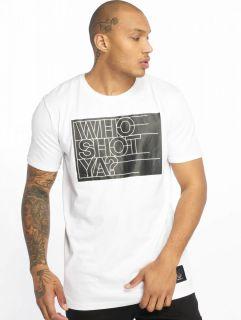 Who Shot Ya? / T-Shirt Sling in white