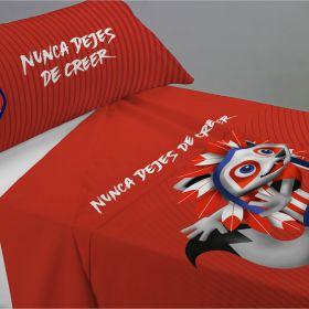 Atlético de Madrid Indi Bed Sheet Set - 105cm