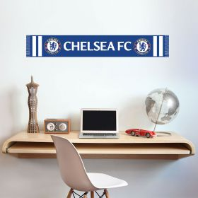 Chelsea Blues Scarf Wall Decal