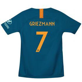 Atlético de Madrid Cup Third La Liga Stadium Shirt 2018-19 - Kids with Griezmann 7 printing