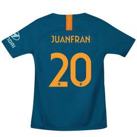 Atlético de Madrid Cup Third La Liga Stadium Shirt 2018-19 - Kids with Juanfran 20 printing