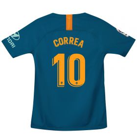 Atlético de Madrid Third Stadium Shirt 2018-19 - Kids with Correa 10 printing