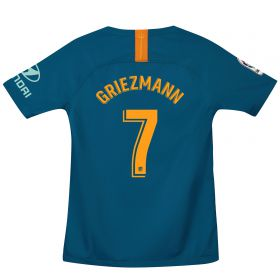 Atlético de Madrid Third Stadium Shirt 2018-19 - Kids with Griezmann 7 printing