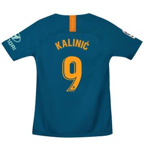 Atlético de Madrid Third Stadium Shirt 2018-19 - Kids with Kalinic 9 printing