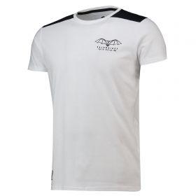 Valencia CF Centenary Contrast T-Shirt - White - Mens