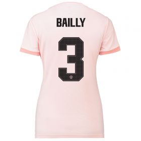 Manchester United Away Cup Shirt 2018-19 - Womens with Bailly 3 printing