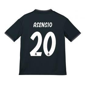 Real Madrid Away Shirt 2018-19 - Kids with Asensio 20 printing