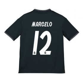 Real Madrid Away Shirt 2018-19 - Kids with Marcelo 12 printing