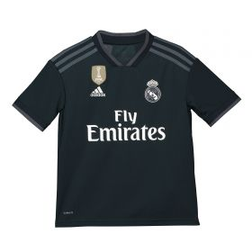 Real Madrid Away Shirt 2018-19 - Kids with Mariano 7 printing