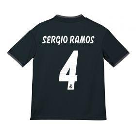 Real Madrid Away Shirt 2018-19 - Kids with Sergio Ramos 4 printing