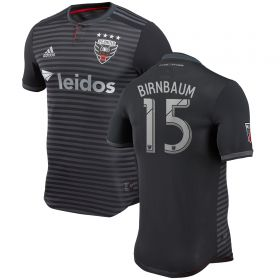 DC United Authentic Home Shirt 2018 with Birnbaum 15 printing