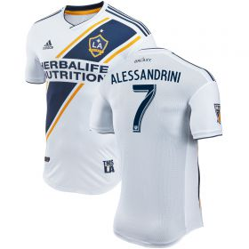 LA Galaxy Authentic Home Shirt 2018 with Alessandrini 7 printing