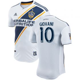 LA Galaxy Authentic Home Shirt 2018 with Giovani 10 printing