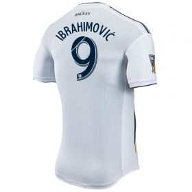LA Galaxy Authentic Home Shirt 2018 with Ibrahimovic 9 printing