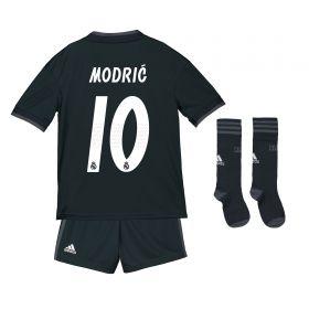 Real Madrid Away Kids Kit 2018-19 with Modric 10 printing