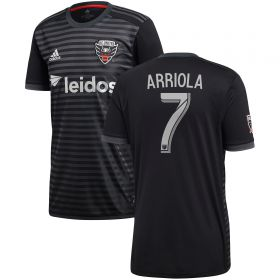 DC United Home Shirt 2018 with Arriola 7 printing