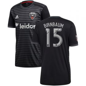 DC United Home Shirt 2018 with Birnbaum 15 printing