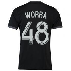 DC United Home Shirt 2018 with Worra 48 printing