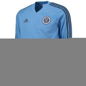 New York City FC Training Top - Long Sleeve - Sky Blue