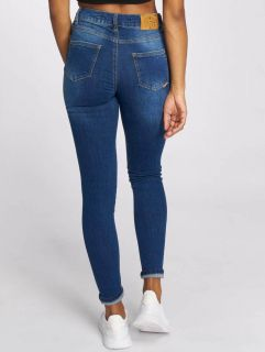 Just Rhyse / High Waisted Jeans Buttercup in blue