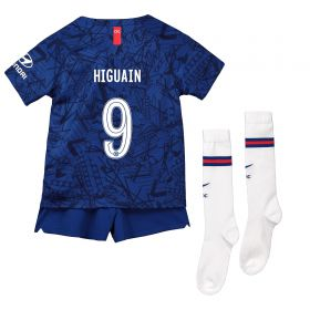 Chelsea Home Cup Stadium Kit 2019-20 - Little Kids with Higuain 9 printing
