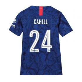 Chelsea Home Cup Stadium Shirt 2019-20 - Kids with Cahill 24 printing