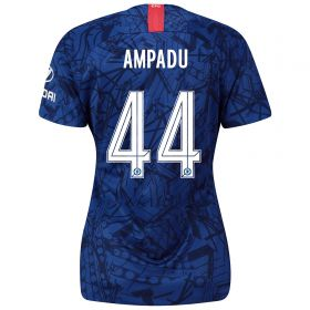 Chelsea Home Cup Stadium Shirt 2019-20 - Womens with Ampadu 44 printing