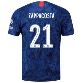 Chelsea Home Cup Stadium Shirt 2019-20 with Zappacosta 21 printing