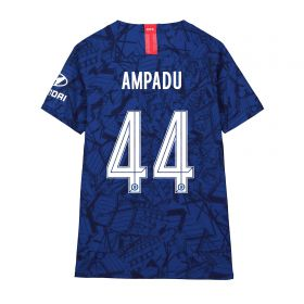 Chelsea Home Cup Vapor Match Shirt 2019-20 - Kids with Ampadu 44 printing