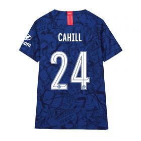 Chelsea Home Cup Vapor Match Shirt 2019-20 - Kids with Cahill 24 printing