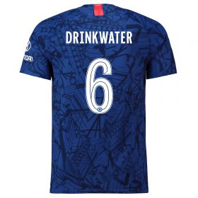 Chelsea Home Cup Vapor Match Shirt 2019-20 with Drinkwater 6 printing