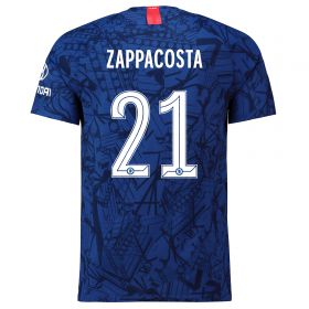 Chelsea Home Cup Vapor Match Shirt 2019-20 with Zappacosta 21 printing