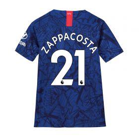 Chelsea Home Stadium Shirt 2019-20 - Kids with Zappacosta 21 printing