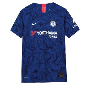 Chelsea Home Vapor Match Shirt 2019-20 - Kids with Drinkwater 6 printing