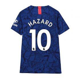 Chelsea Home Vapor Match Shirt 2019-20 - Kids with Hazard 10 printing