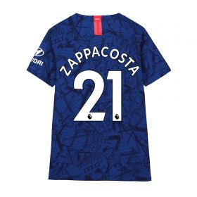 Chelsea Home Vapor Match Shirt 2019-20 - Kids with Zappacosta 21 printing