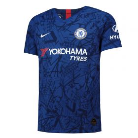 Chelsea Home Vapor Match Shirt 2019-20 with Drinkwater 6 printing