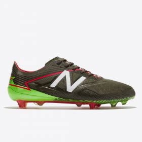 New Balance Furon 3.0 Pro Firm Ground Football Boots - Military Dark Triumph Green/Alpha Pink
