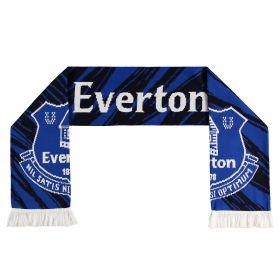 Everton Everton Patterned Scarf - Royal - Adult