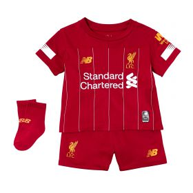 Liverpool Home Baby Kit 2019-20 with Virgil 4 printing