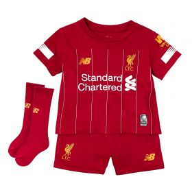 Liverpool Home Infant Kit 2019-20 with Wijnaldum 5 printing