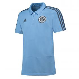 New York City FC Coaches Polo - Sky Blue