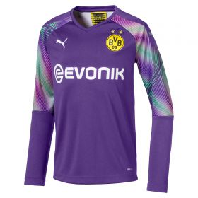 BVB Away Goalkeeper Shirt 2019-20 - Long Sleeve - Kids