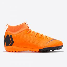 Nike Mercurial SuperflyX 6 Academy Astroturf Trainers - Orange - Kids