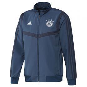 Bayern Munich Pre Match Jacket - Navy