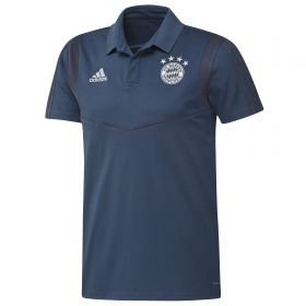 Bayern Munich Training Polo - Navy