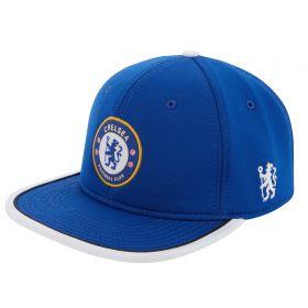 Chelsea Neoprene Woven Crest Cap - Blue - Mens