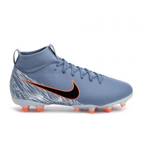 Nike Superfly 6 Academy Firm Ground Football Boots - Grey - Kids