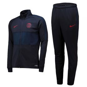 Paris Saint-Germain Strike Training Tracksuit - Grey