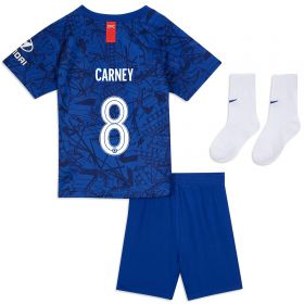 Chelsea Home Cup Stadium Kit 2019-20 - Infants with Carney 8 printing